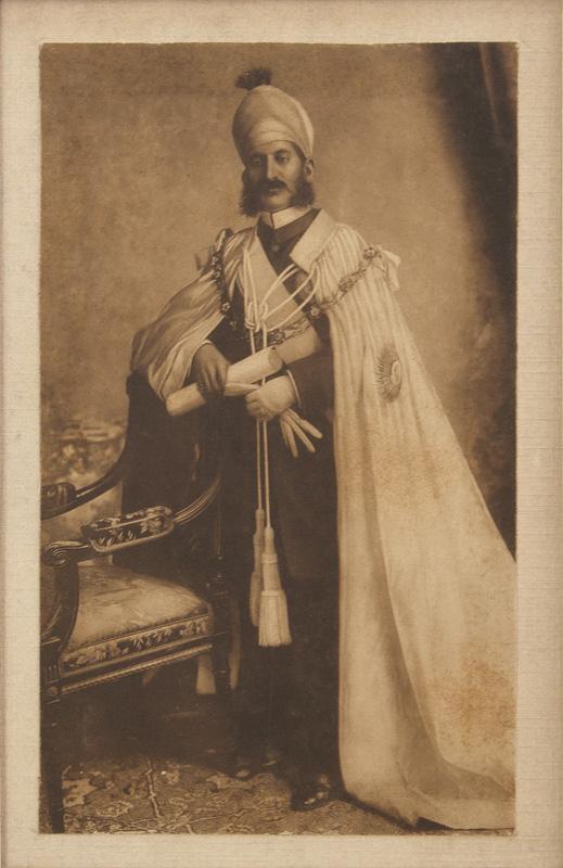 Nawab Mir Mahboob Ali Khan Photogravure