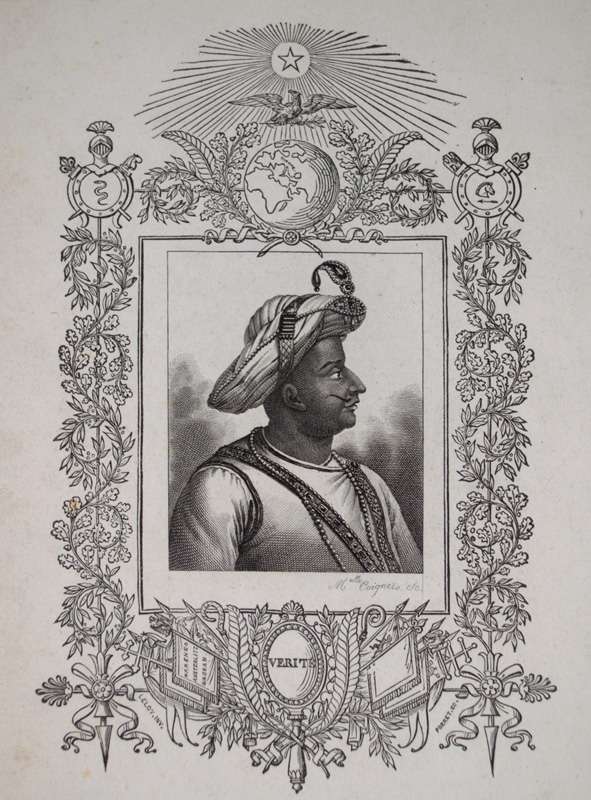 Tipu Sultan by Melle Coignet