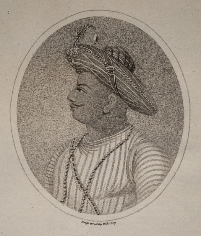 Tipu Sultan by William Ridley