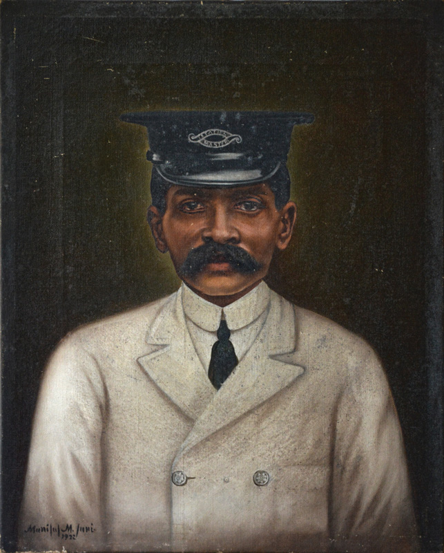 Portrait of a Railway Station Master