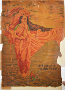 Lithograph 20 x 14 inches 1907 Printed at Ravi Varma Press