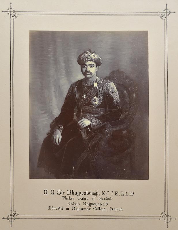 H. H. Sir Bhagwatsingji