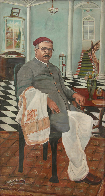 Mohanlal Lalji Khusalram by Painter Baburao