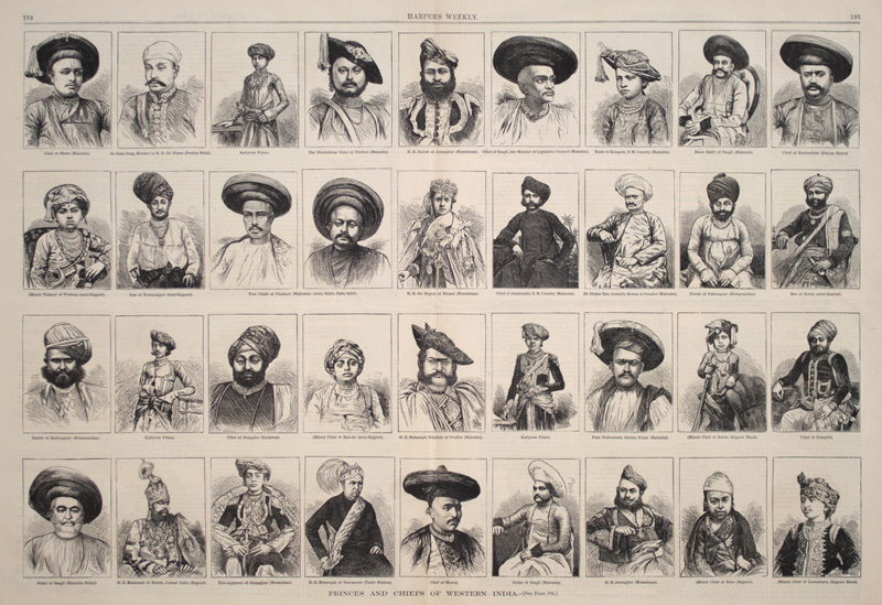 Princes & Chief of Western India