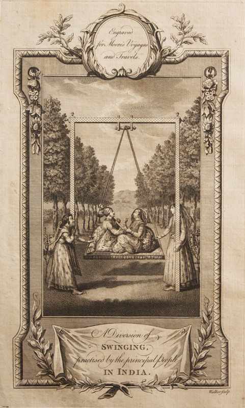 Royal Couple on a Swing