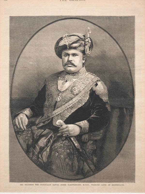 H. H. Maharaja Takhtsinghji