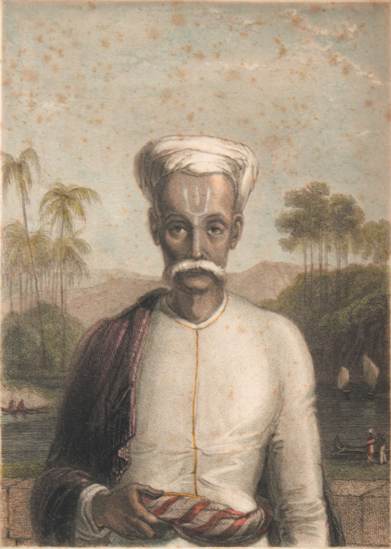 Portrait of a Money-Lender, Malabar