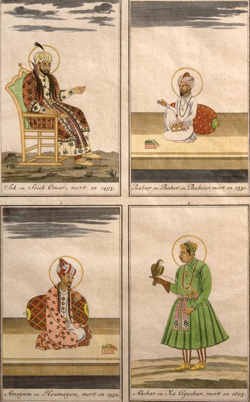 Umar Sheikh, Babur, Humayun & Akbar