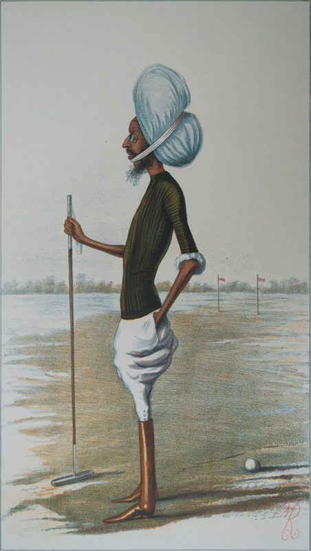 H. H. Maharaja Rajinder Singh