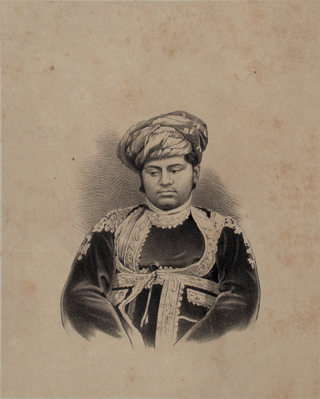 Maharaja Shree Dajeeraj Thakore Saheb of Wadhwan