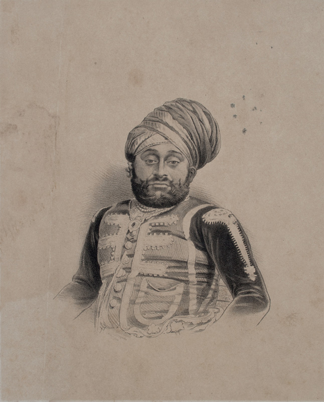 Sir Mahansingjee, Raj Saheb of Dhangdhra