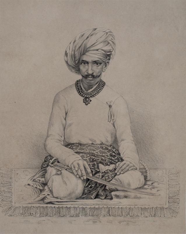 Khancher Alla Chela, The Chief of Jasdan