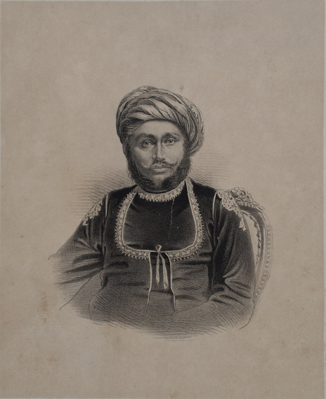 Saheb Shri Kurrunsigjee, Thakore of Lakhtar