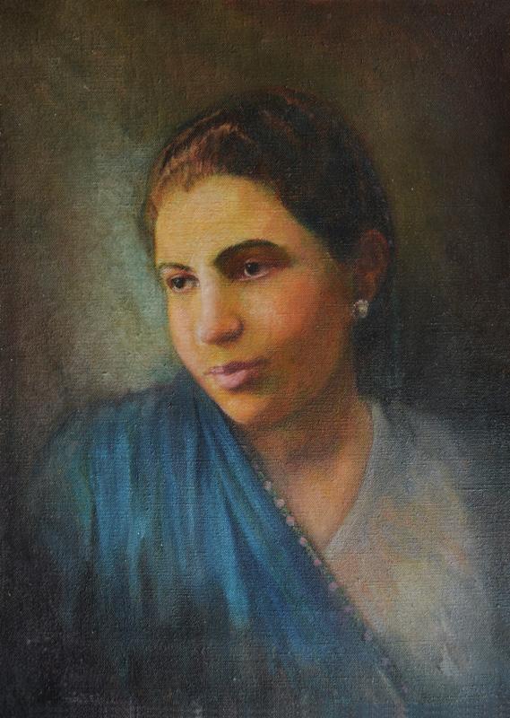 Portrait of a Parsi Lady