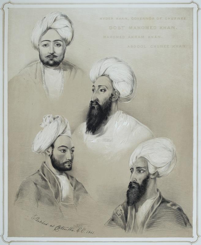 Dost Mohammed Khan by Emily Eden