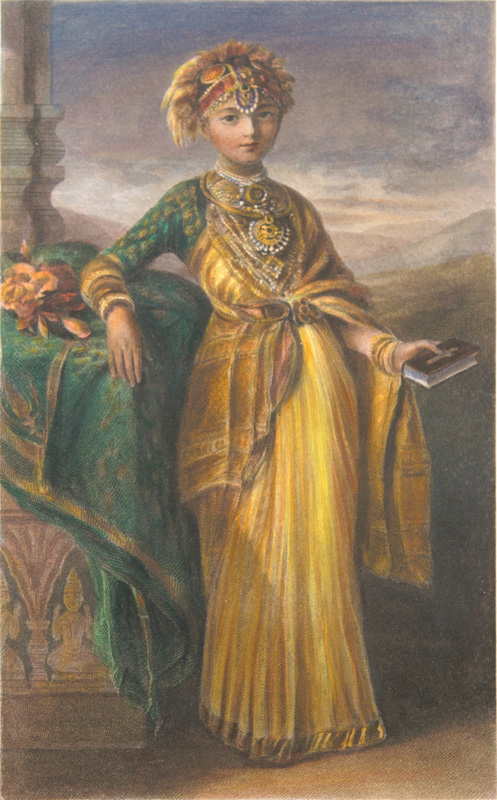 Princess Victoria Gowramma of Coorg