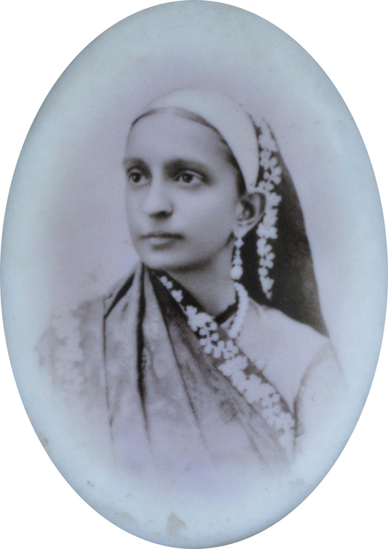 Portrait of a Parsi Lady