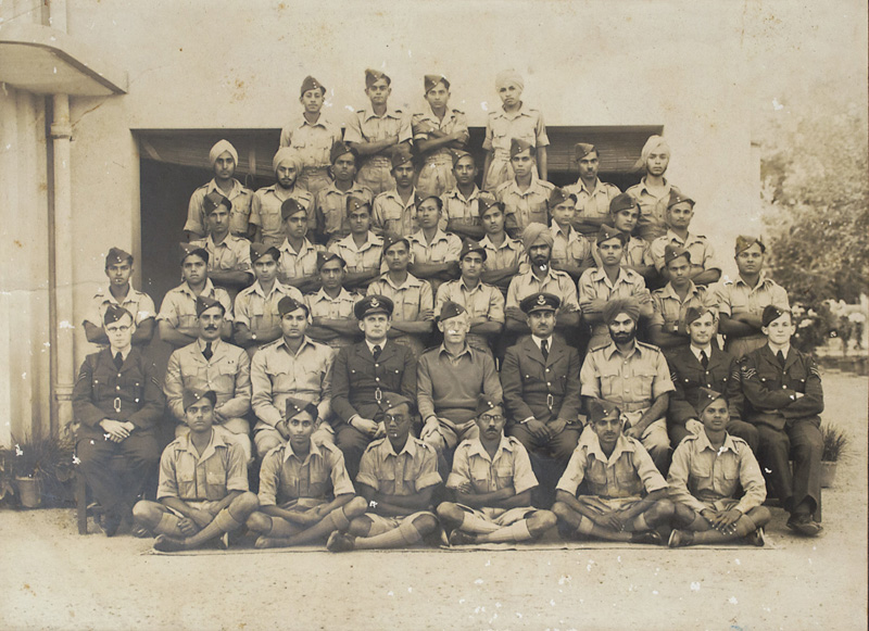 Members of Indian Air Force 1942