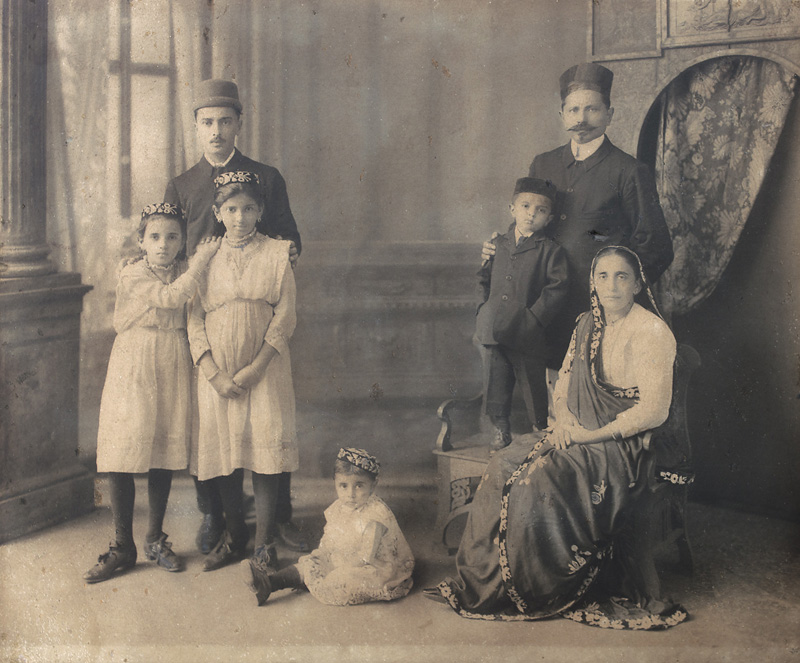 Unidentified Parsi Family