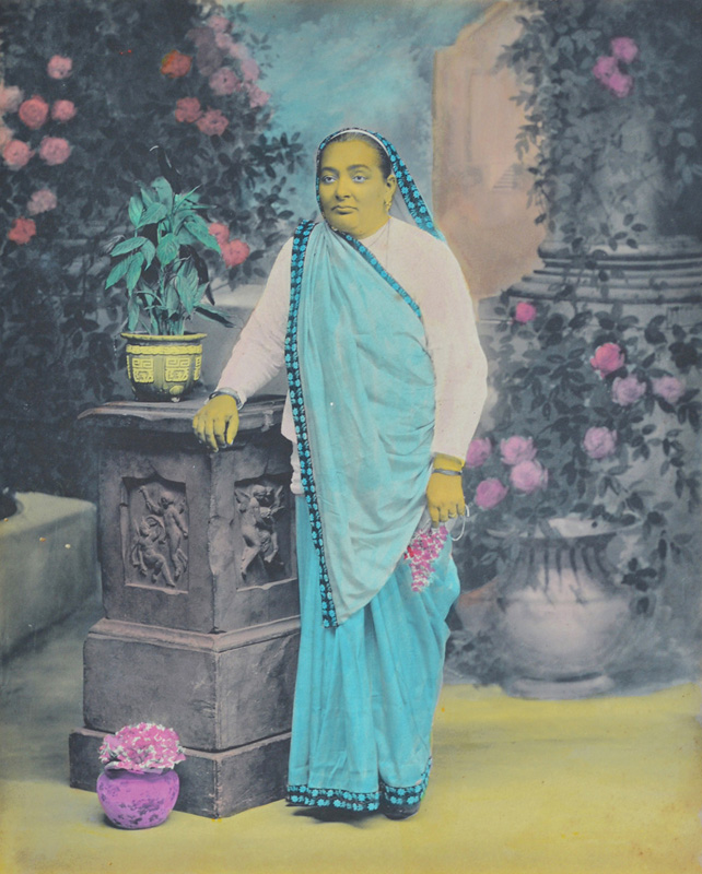 Unidentified Parsi lady