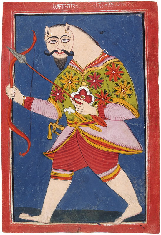 Maharaja Bisal Dev Warrior king of Ajmer