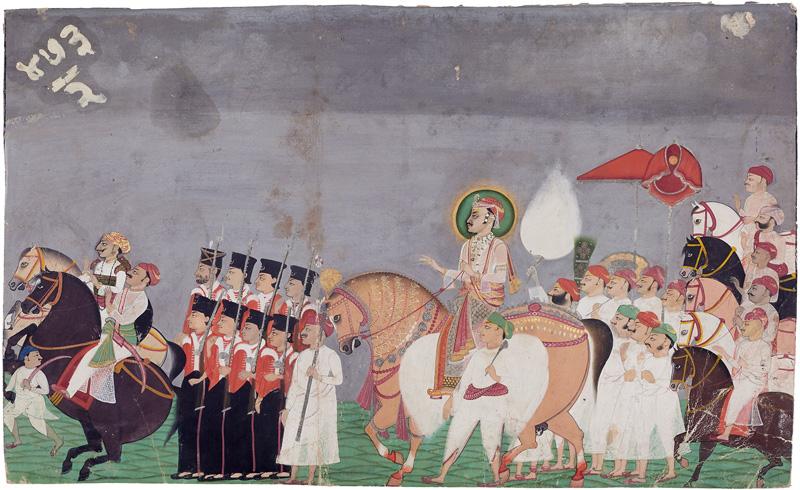 Tilkayat Girdharji of Nathdwara