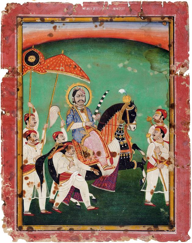 Goswami Balkrishnalalji Maharaj of Kankroli