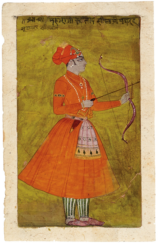 Maharaja Pratap Singh of Kishangarh