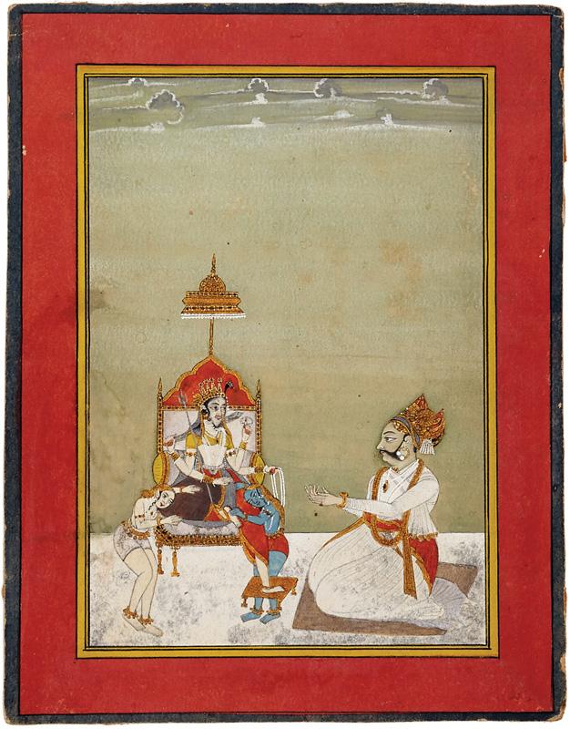 Maharaja Gaj Singhji of Bikaner