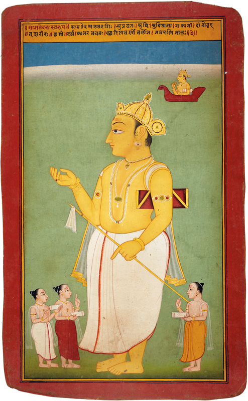 Portrait of Samveda