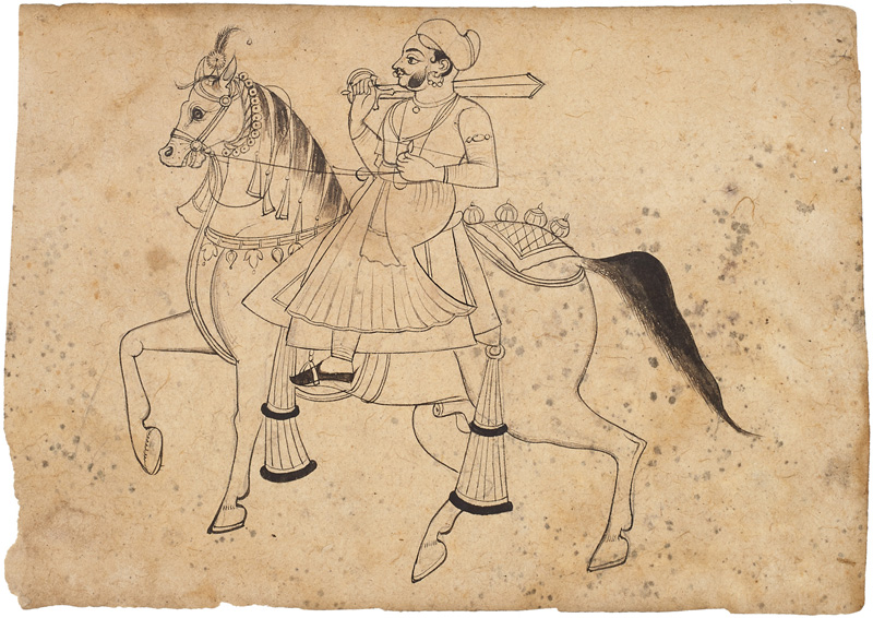 Unidentifiable Mewar noble