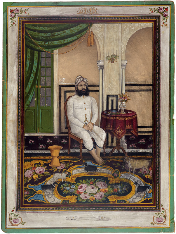 Chatur Singhji Bavji of Mewar