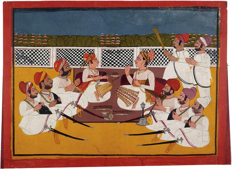 Maharaja Gulab Singh and Thakur Kulan Singh