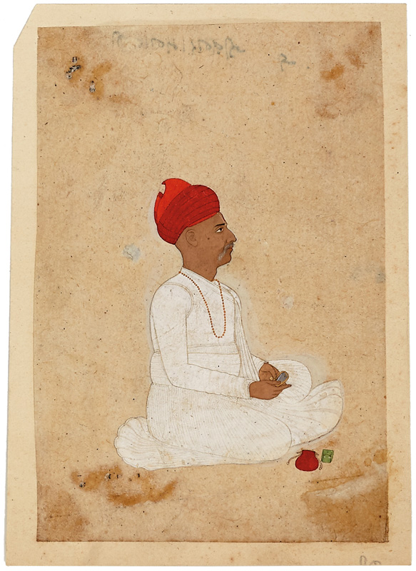 Jivan Ram, merchant from Jaipur