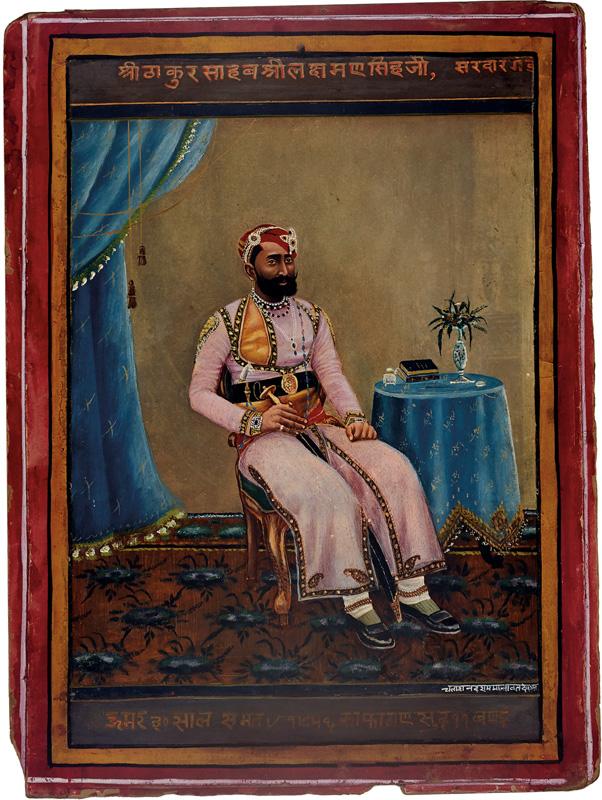 Thakur Laxman Singhji of Sardargarh