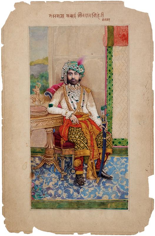 Maharaja Shivdan Singhji of Alwar