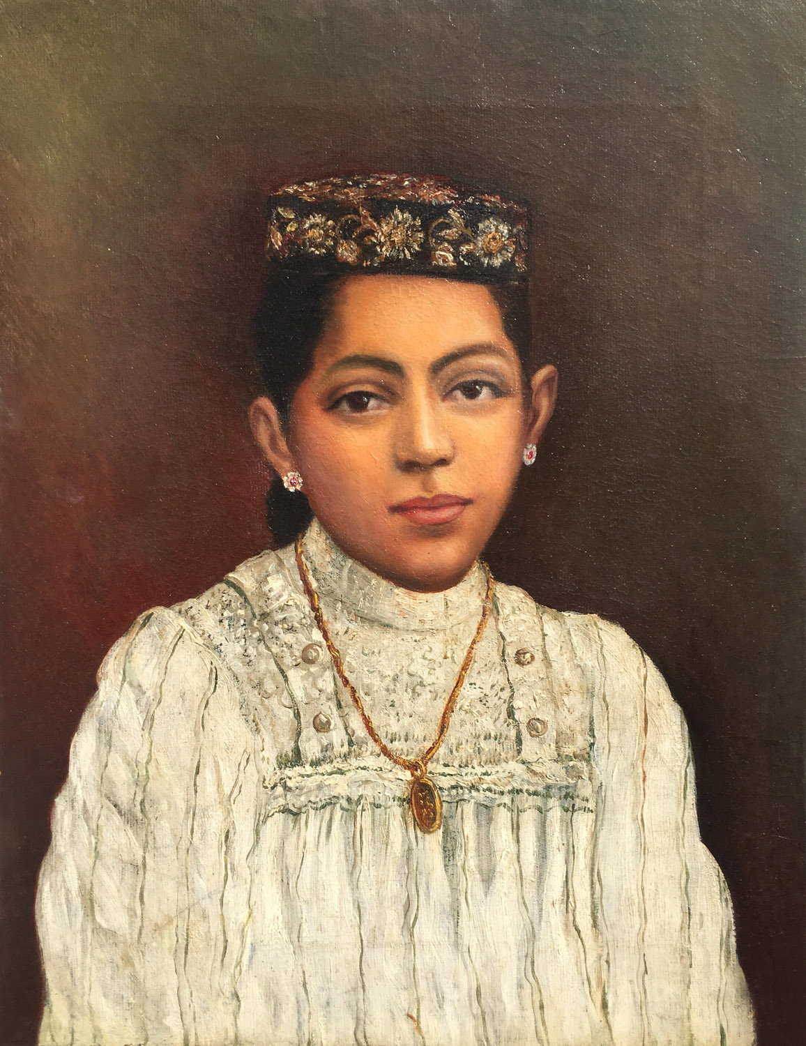 Unidentified Parsi girl