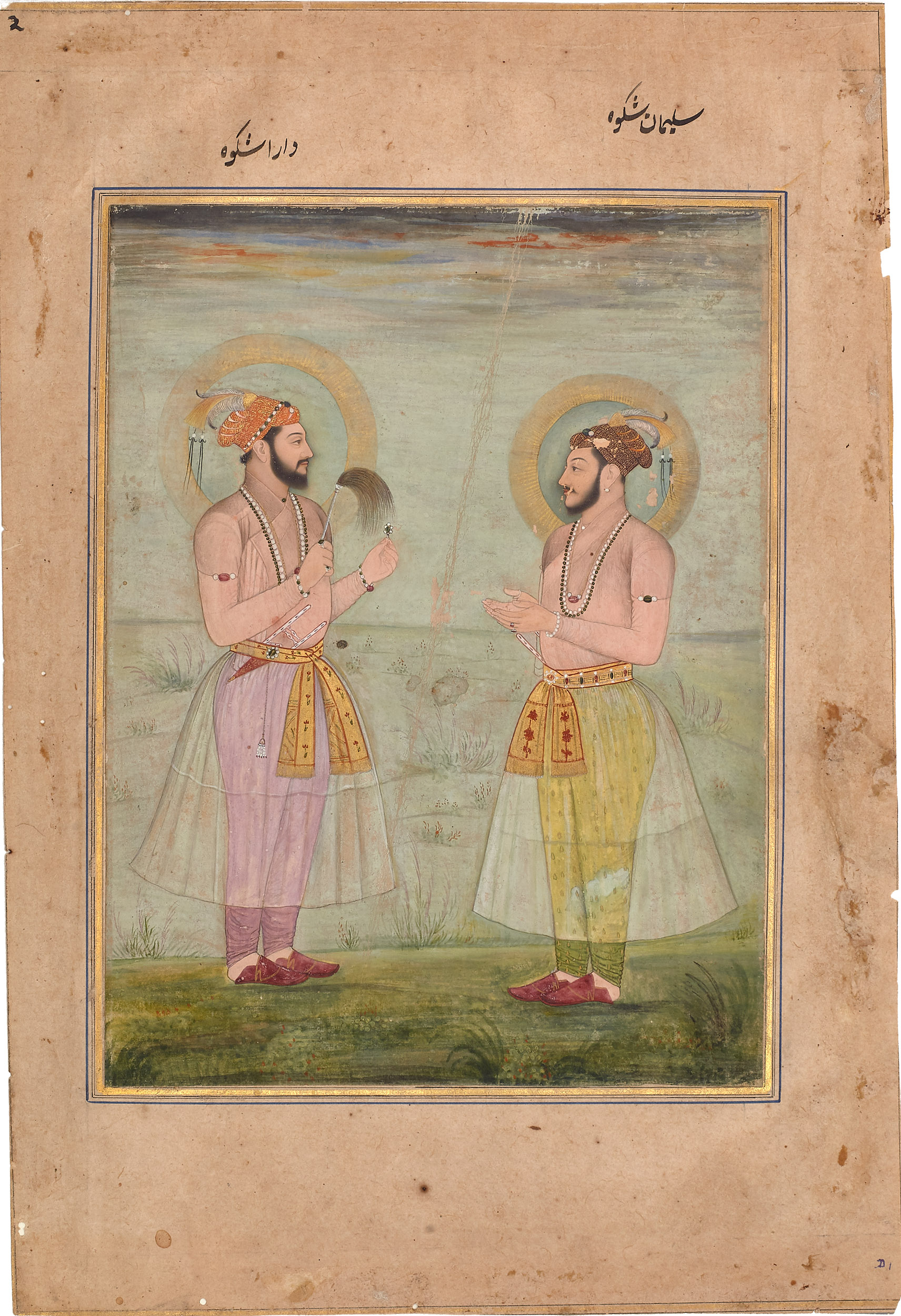 Dara and Sulaiman Shikoh