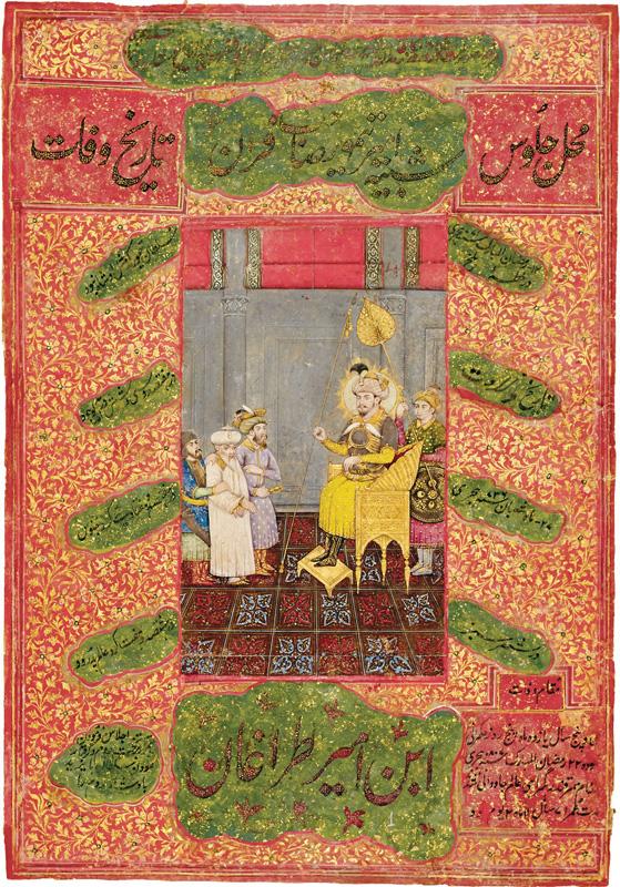 Timur Lang captures Nasir-ud-din Mahmud Tughluq