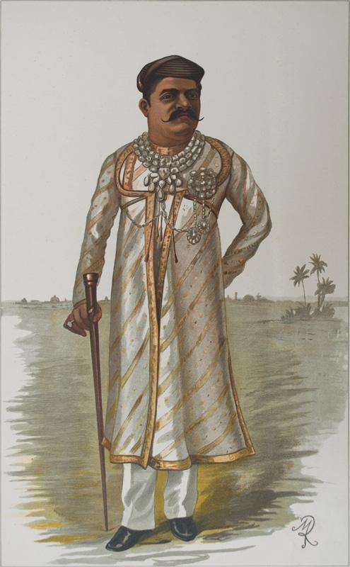 Sir Sayajirao Gaekwad Vanity Fair