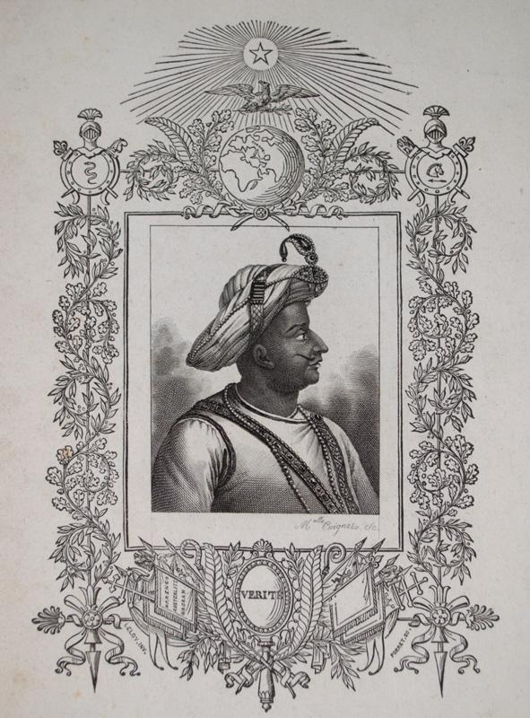 Tipu Sultan by Melle Coignet
