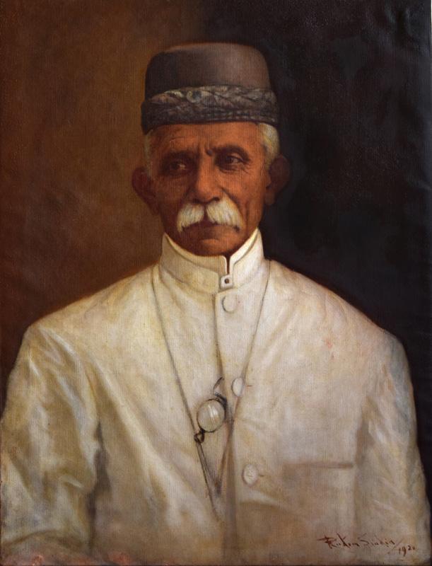 Khan saheb Manchersha Palonjee Kikobad