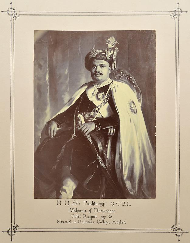 H. H. Sir Takhtsingji