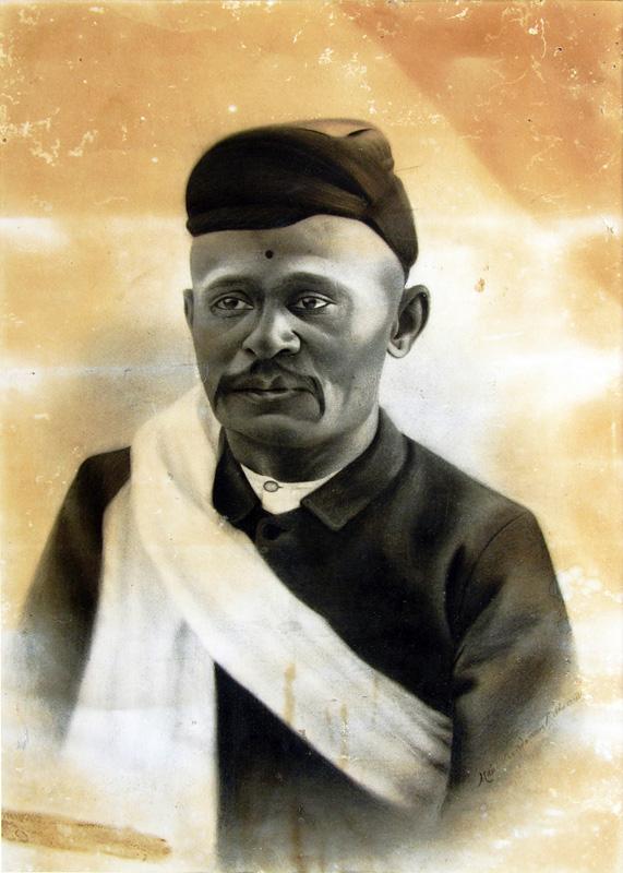 Portrait of an Unknown Gentleman by M V Dhurandhar