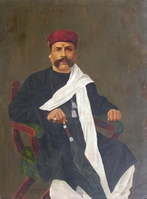 Portrait of an Philanthropist  by M. F. Pithawala