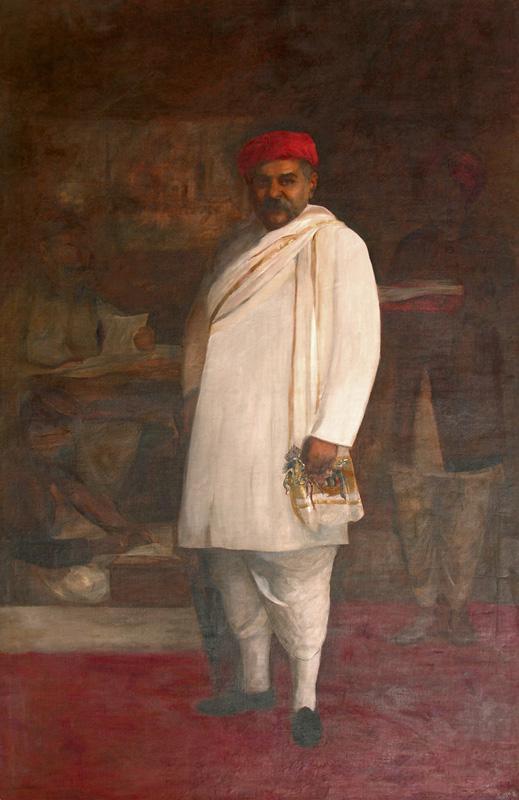 Sir Chinubhai Baronet by Fyzee Rahamin