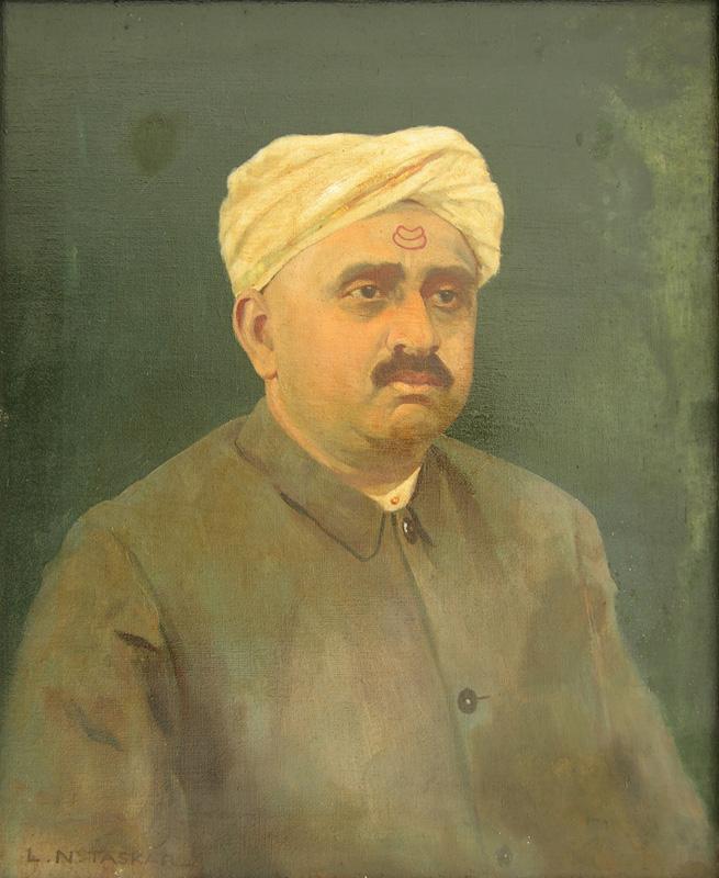 Portrait of a Nobleman by Laxman Narayan Taskar