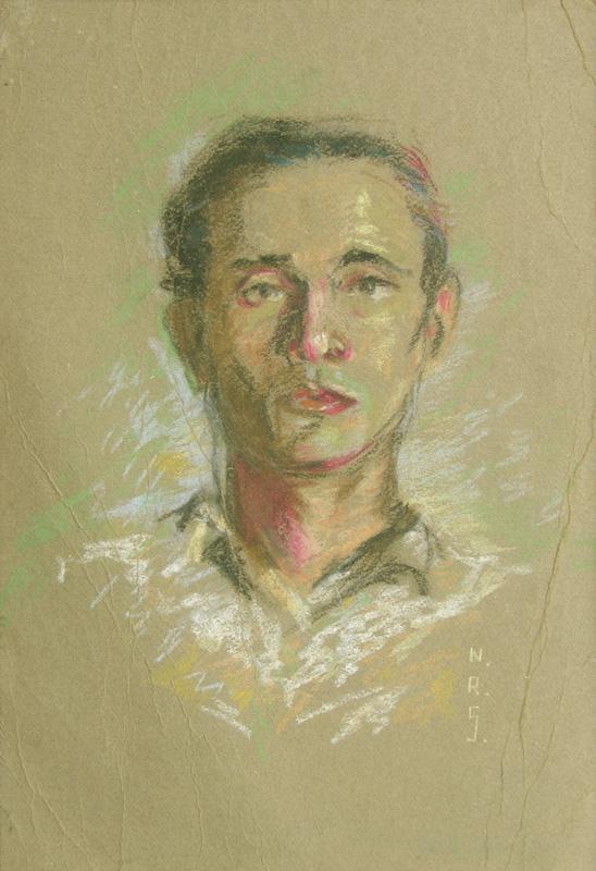 Portrait of an Unknown Gentleman by N. R. Sardesai