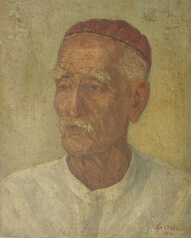 An Urdu Teacher by Gobardhan Ash
