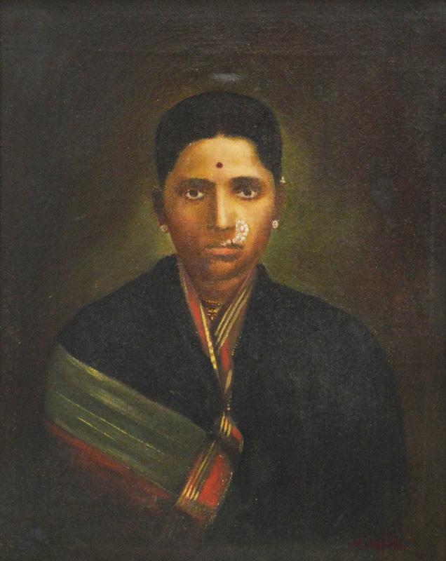 Portrait of a Maharashtrian Lady